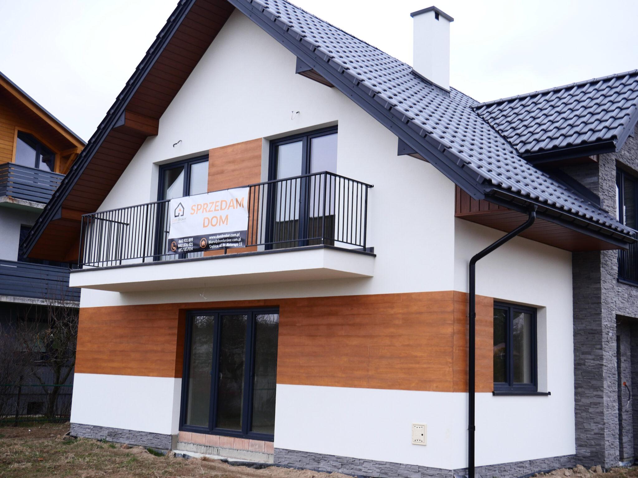 Dom bliźniak w zabudowie segmentowej na sprzedaż, Dębica, ul. Gawrzyłowska, STYL SKANDYNAWSKI- NOWA NIŻSZA CENA!!!